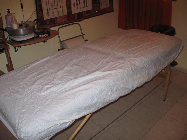 מגן מזרון PVC למיטת עיסוי/נוער