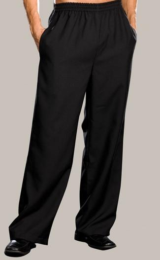 מכנס שחור עם גומי