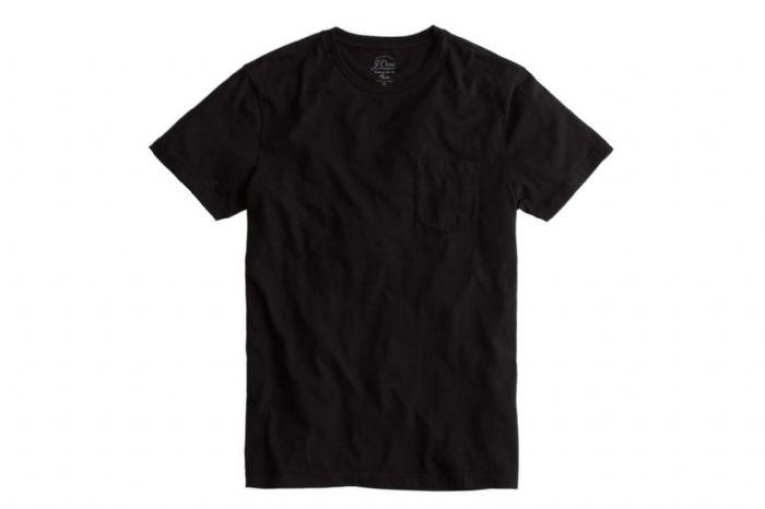 חולצת טריקו שחורה